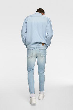 Zara Cropped skinny jeans