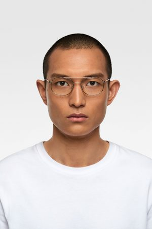 Zara Metal frame glasses