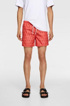 Zara Ice cream print swimming trunks