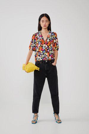 Zara Voluminous printed shirt