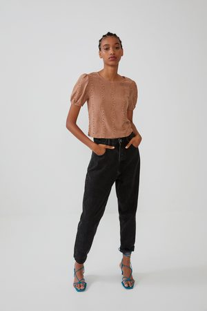 Zara Top with lace detail