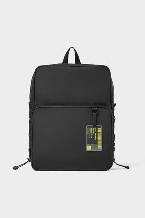 Zara Basic nylon backpack