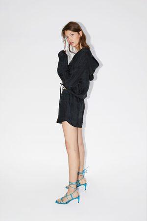 Zara Loose-fitting pouch pocket sweatshirt