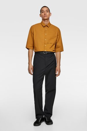 Zara Short sleeve stretch shirt