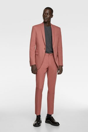 Zara Coloured suit blazer