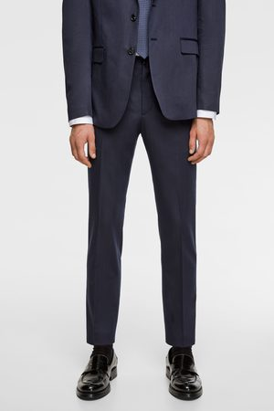Zara Striped suit trousers