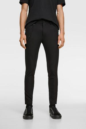 Zara Super skinny trousers with chain