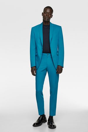 Zara Coloured suit trousers