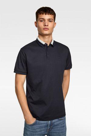 Zara Polo shirt with mercerised finish