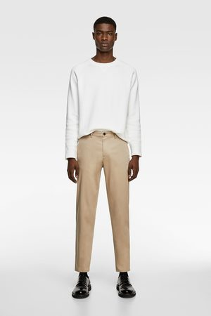Zara New cropped chinos