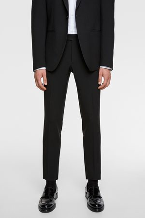 Zara Suit trousers with contrast trim