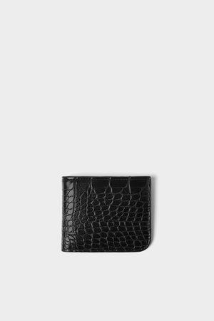 Zara Reptile texture wallet