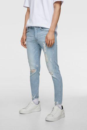 Zara Men Skinny - Skinny jeans with ripped hems