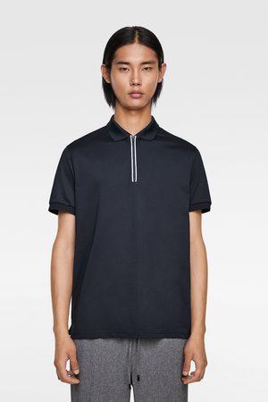 Zara Traveller piqué polo shirt