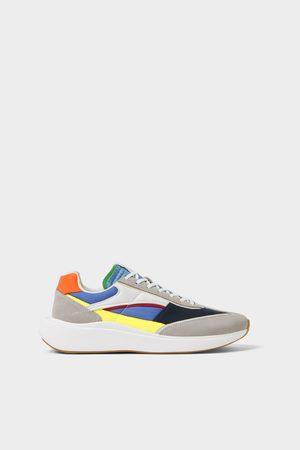 Buy Zara Shoes For Men Online Fashiola Ph Последние твиты от zara (@zara). contrast sneakers