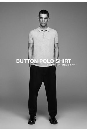 Zara Short sleeve polo shirt