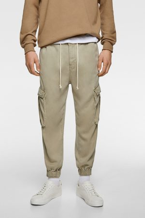 Zara Men Cargo Pants - Loose fit cargo trousers