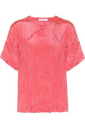 REJINA PYO Mattie satin blouse