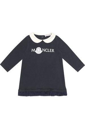 Moncler Enfant Baby logo jersey dress
