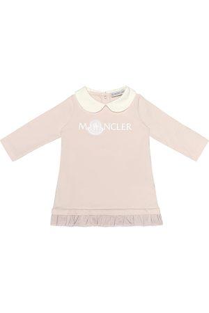 Moncler Baby stretch-cotton jersey dress
