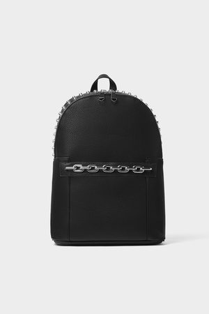 Zara Studded backpack