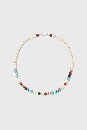 Zara Short beaded necklace