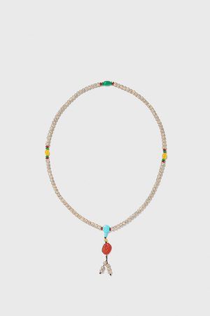 Zara Assorted bead necklace