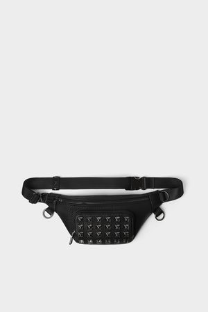 Zara Men Belts - Belt bag with studs