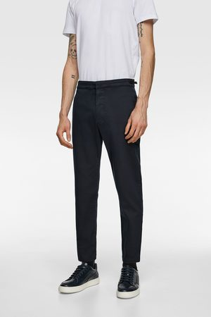 Zara Soft denim chinos