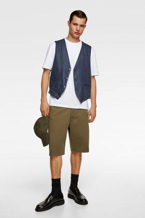 Zara Linen waistcoat