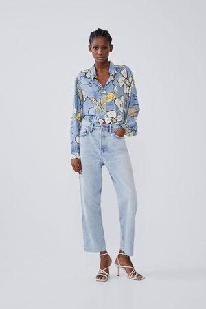 Zara Printed full sleeve shirt