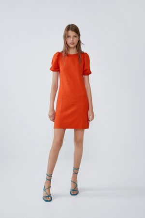 Zara Voluminous textured dress