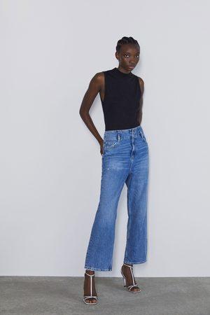 Zara Basic ribbed t-shirt