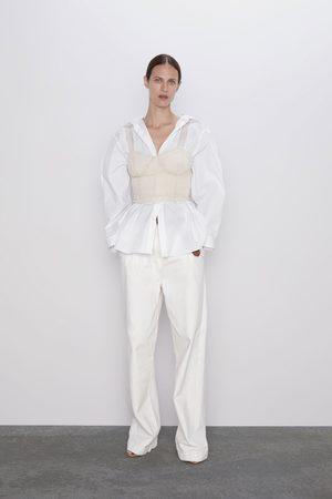 Zara Combined beaded top