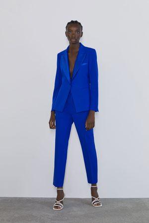 Zara Tuxedo collar blazer