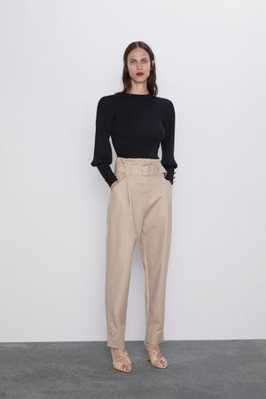 Zara Slouchy trousers with belt