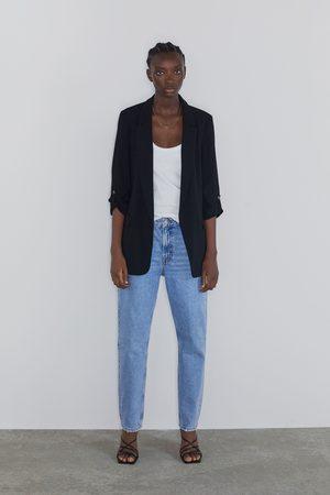 Zara Blazer with turn-up sleeves
