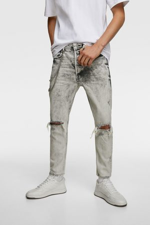 Zara Slim fit jeans with chains