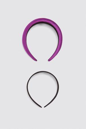 Zara Pack of satin headbands