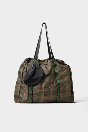 Zara Soft foldable tote bag