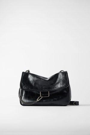 Zara Rocker soft crossbody bag