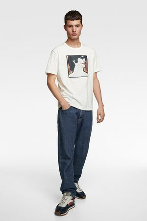Zara Men T-shirts - T-shirt with illustration © gruau collection