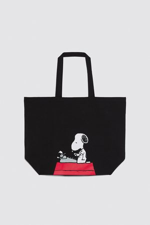 Zara Snoopy ®peanuts tote bag