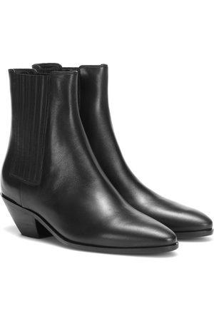 Saint Laurent West 45 leather Chelsea boots