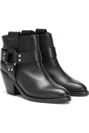 See by Chloé Eddy leather ankle boots