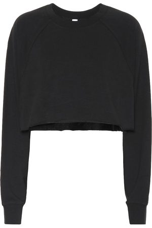 alo Double Take cotton-blend sweater
