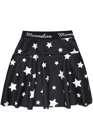 MONNALISA Star-print miniskirt