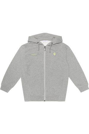 Marcelo Burlon Kids of Milan Cotton-blend zip-up hoodie