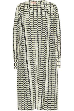 Plan C Women Printed Dresses - Printed cotton midi dress