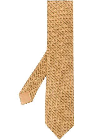 Hermès 2000s patterned tie